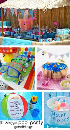 Pool Party Food Ideas For Teenagers pool birthday party everyday parties 10 Pool Party Ideas Using The First Photo Maybe Have Kettle Corn Or Popcorn In Paper Bags Have Plastic Cups With Writable Nametag Stickers With