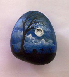 Front of Dark night stone.