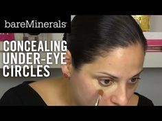 bareMinerals Tutorial: Concealing Under-Eye Circles - YouTube