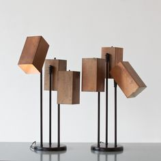 Mid-Century table lamps | by C. Enache