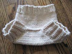 Free Knitting Pattern - Baby Knits: Newborn Shorties