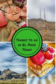 If you are looking for things to do in El Paso, you're in luck. From historic sites and museums to outdoor activities and of course the great food there is something for everyone. Usa Travel Guide, Travel Usa, Travel Tips, Stuff To Do, Things To Do, Us Travel Destinations, Texas Travel, Texas Tourism, Adventure Activities
