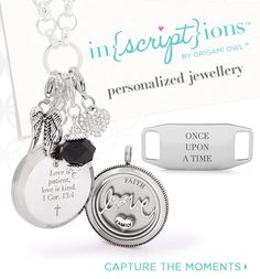 Inscriptions by Origami Owl - Personalized Jewellery - make your gifts this year special ❤️ I can help!!! Jenniferpollard.origamiowl.ca https://www.facebook.com/jenniferpollard.origamiowl  Caughtinalocket@gmail.com