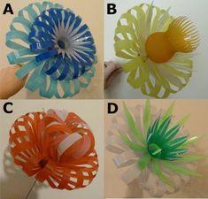 Com Best 12 Plastic Bottle Flowers por SarahTurnerEcoDesign en Etsy – SkillOfKing. Plastic Bottle Flowers, Plastic Bottle Crafts, Recycle Plastic Bottles, Recycled Bottles, Recycled Crafts, Plastik Recycling, Soda Bottle Crafts, Pop Bottles, Bottle Design