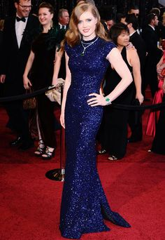 Sequins!!!  Amy Adams 2011 Oscars
