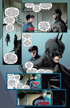 Jason Todd and Batman part 2 in Red hood and the Outlaws Rebirth