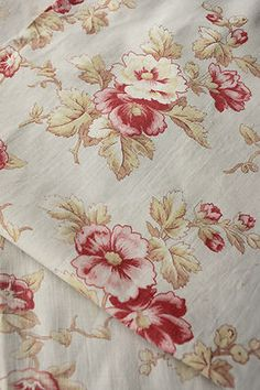 Vintage faded French floral fabrics ~ ideal for inspiration ~