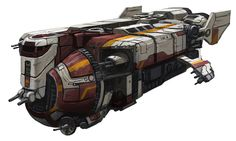 The YV-929 armed freighter was a 22-meter-long light freighter produced by Corellian Engineering Corporation. It used the same forward cockpit structure as the much larger YV-100 light freighter. Unlike most CEC freighters, which came off the assembly lines with minimal weaponry, the YV-929 was designed from the start to be heavily armed for defense against pirate and Rebel raids, and also featured very strong shields.