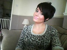 Love short haircuts. Too bad they don't love me