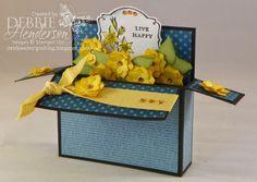 Debbie's Designs: Rectangular Pop-Up Box Card!