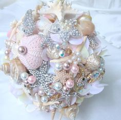 Image result for seashell bouquet