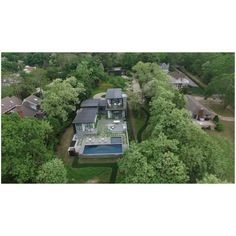 Designed and Built by #MGH on Inner Sag Harbor Cove, 2,800 sq. ft. W/ 800 sq. ft. guest house featuring Shou Sugi Ban Burnt Cypress siding and stucco, steel windows and doors, and Terrazo #geothermal #radiant floors.  #sagharbor #hamptons #dji #drone #arc