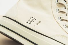 A Closer Look at Midnight Studios's Inside-Out Converse Collaboration