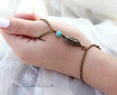 Slave Bracelet Hand Piece Hand Chain by SlaveBraceletAndMore