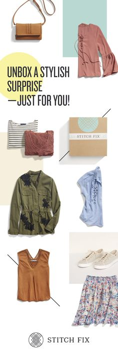 Take a detailed Style Quiz and tell Stitch Fix about your lifestyle, fit, and price preferences. From there, a personal stylist will curate five pieces that meet all your criteria. Try them on at home and only keep what you love. Love it all? Enjoy a 25% discount when you keep all 5 items.