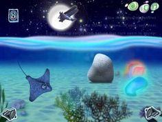 Flow and His Glowing Pebbles! Counting App! For Full Review visit http://www.bestappsforkids.org