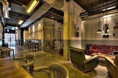 Screen Shot at Screen Shot, Restaurant Bar, Lounge, Indoor, Furniture, Industrial, Design, Home Decor, Blog