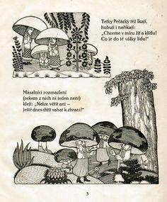 война грибов Image Illustration, Illustration, Image, Vintage, Vintage Illustration