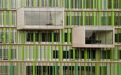 Arquitectura :: Universidad EAN. Por: Daniel Bonilla Arquitectos. Colombia.