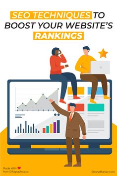 Effective SEO techniques are always changing. Learn about the most effective and up-to-date SEO tactics that can help you grow your audience. Social Media Marketing, Digital Marketing, Seo Techniques, Website Ranking, Your Website, Online Business, Hacks, Tools, Learning