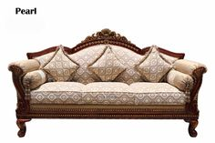 Charming Wooden Sofa Kirti Nagar 40 About Remodel Home Design Ideas for Wooden Sofa Kirti Nagar : Resume Victorian Style Furniture, Victorian Sofa, Antique Sofa, Vintage Sofa, Living Room Sofa Design, Home Room Design, Cushions On Sofa, Couch, Wooden Sofa Set Designs