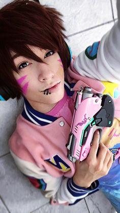 Male D.Va  (Overwatch) #dva #overwatch #cazfhey #cosplay #videogames #pastel #cosplayer #pastelboy #makeup #fashion #otaku #nerd #gamer #genderbend #animeboy #aesthetic