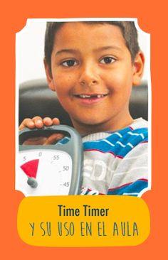 Time Timer engloba toda una gama de materiales pensados para representar el transcurso del tiempo de forma visual indicando el tiempo que queda para finalizar una actividad. Es ideal para los niños con dificultades para comprender la noción del tiempo pero también para facilitar las transiciones. Por si no lo conocías antes, te dejamos este video explicativo sobre ¡su funcionamiento y todas sus ventajas! Time Timer, Shape, Classroom, Activities