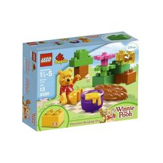 Help him to gather the honey and plop down on his picnic blanket with his favorite sweet snack. LEGO® DUPLO® bricks, figures and animals are colorful, safe and sturdy for little hands and big imaginations.