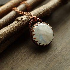 polandhandmade.pl #polandhandmade #copper #moonstonejewelry