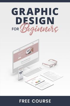 Learn how to design graphics from a professional by taking this free course, Graphic Design for Beginners. This well-rounded course will teach you design principle, color psychology, typography in design, and more. #graphicdesign #blogging #freecourses Buch Design, Graphisches Design, Web Design Company, Cover Design, Design Trends, Custom Design, Web Design Tutorial, Graphic Design Tutorials, Web Design Inspiration