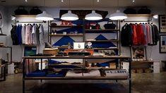 This is an example of a visual display. In this photo they use wall fixtures, ta. This is an example of a visual display. In this photo they use wall fixtures, tables, and shelves t Men Closet, Walk In Closet, Online Shops, Online Clothing Stores, Clothing Racks, Anna Wintour, How To Organize Your Closet, Resume Objective, Best Paint Colors
