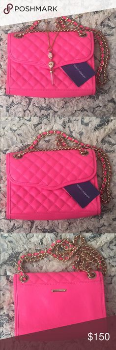 Rebecca Minkoff Poppy Pink purse New and in great condition! Rebecca Minkoff Bags Crossbody Bags