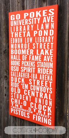 Cottage Colony | Oklahoma State University Orange