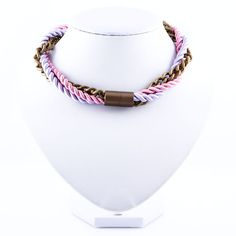 Shop Chained Classic from Apreciouz in Necklaces, available on Tictail from Rope Necklace, Beaded Necklace, Necklaces, Ss16, Statement Jewelry, Chain, Classic, Gold, Jewellery