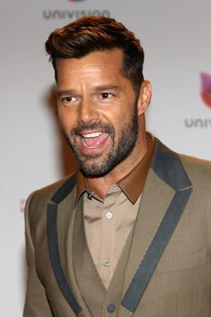 Ricky Martin in Arrivals at the Premios Lo Nuestros Awards