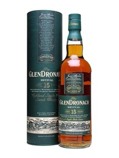 Firsts - Glendronach 15 Year Old Revival / Sherry Cask