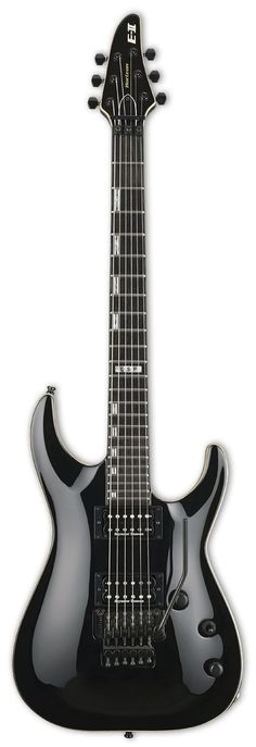 ESP E-II Horizon FR Electric Guitar | Black Finish