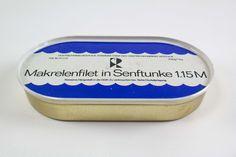"""DDR Museum - Museum: Objektdatenbank - """"Makrelenfilet"""" Copyright: DDR Museum, Berlin. Eine kommerzielle Nutzung des Bildes ist nicht erlaubt, but feel free to repin it!"""