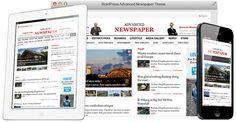 Advanced #Newspaper #WordPress e-Newspaper Theme - www.wpchats.com