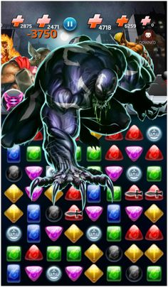 #Venom #Fan #Art. (Venom (Dark Avengers) Devour Move, In: Marvel Puzzle Quest!) By: AMADEUS CHO! (THE * 5 * STÅR * ÅWARD * OF: * AW YEAH, IT'S MAJOR ÅWESOMENESS!!!™)[THANK Ü 4 PINNING<·><]<©>ÅÅÅ+(OB4E)  https://s-media-cache-ak0.pinimg.com/564x/4e/6e/5e/4e6e5e7fb66f5ca98609c243a3d1e271.jpg