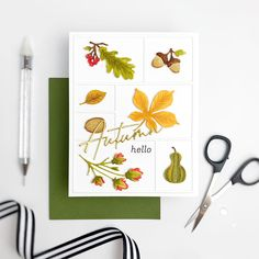 The Greetery | Laurie | Flickr Heather Nichols, Friend Crafts, Fall Cards, Paper Crafts, Autumn, Crafty, Projects, Handmade, Stamping