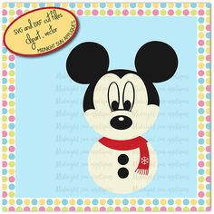 Christmas mickey mouse svgmickey mouse svgsnowman