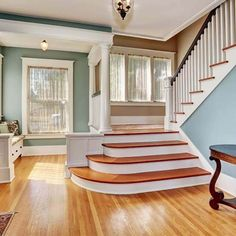 22 Beautiful Traditional Staircase Design Ideas To Must Check - The Architecture Designs Stairs Architecture, Architecture Design, Design Your Own Room, Stairs Canopy, Cantilever Stairs, Traditional Staircase, Building Stairs, Beautiful Stairs, Basement Layout