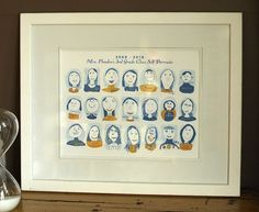 Image result for grade school class picture composite drawing auction