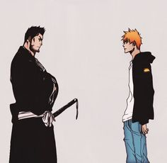 """""""That shocking moment when you realize your dad is a shinigami.......""""   // I think I remember I started screaming. Yep. //"""