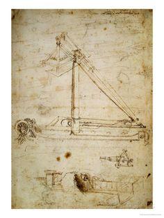 War Machine Giclee Print by Leonardo da Vinci at AllPosters.com