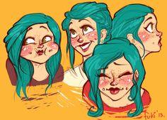 cheeks by Fukari.deviantart.com on @DeviantArt