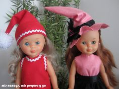 mis nancys, mis peques y yo, disfraces nancy sombreros