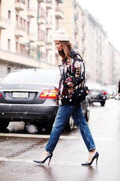 Street Style – Milan Fw