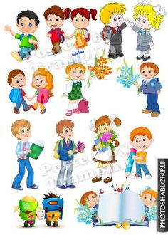 Children are school students Cute Monster Illustration, Cute Monsters, Clip Art, Comics, School, Children, Fictional Characters, Students, Young Children